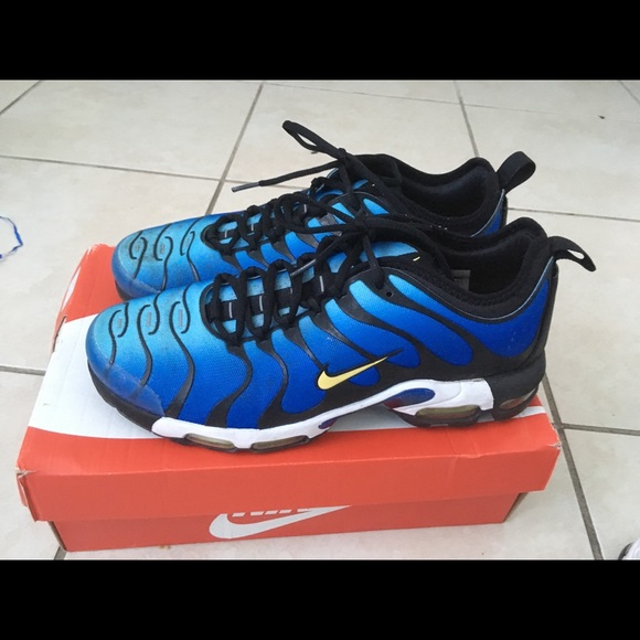 separation shoes a346d 47438 Nike Air Max Plus TN Ultra Hyper Blue size 11.5